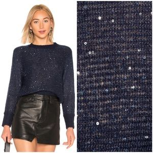 LOVERS + FRIENDS $128 SPARKLE SWEATER TULAROSA